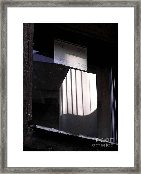 Poznanwindow Framed Print
