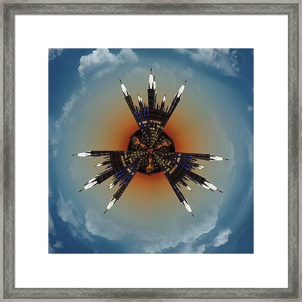 Ppg Little Planet  Framed Print