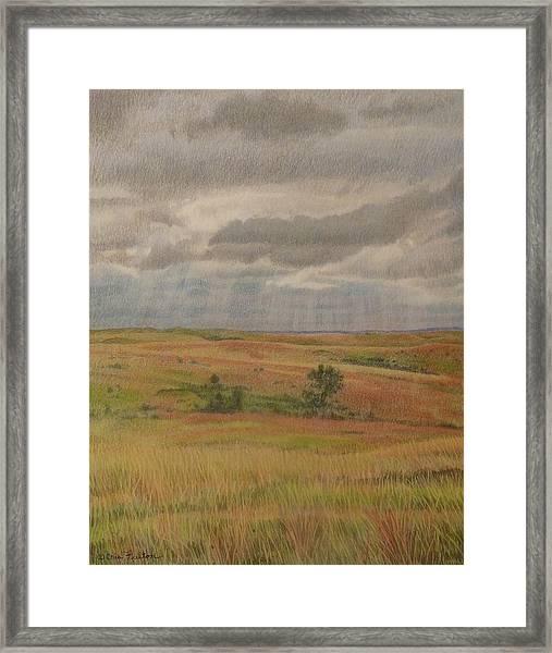 Prairie Light Framed Print