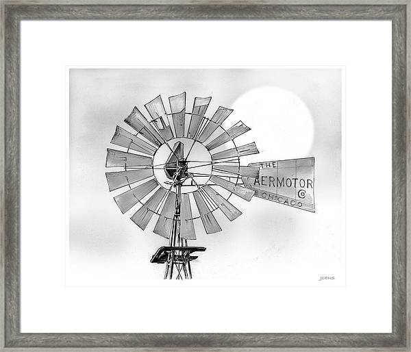 Prairie Sentinel Framed Print