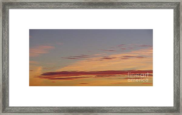 Prairie Sunset 2 Framed Print
