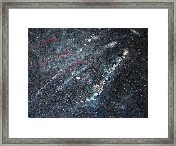 Framed Print featuring the painting Prana by Michael Lucarelli