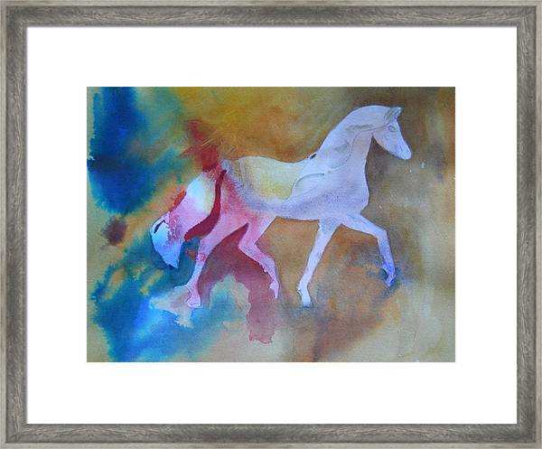 Prancing Pony Framed Print