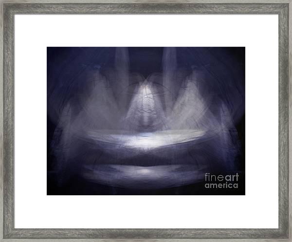 Prayer Bowl01 Framed Print