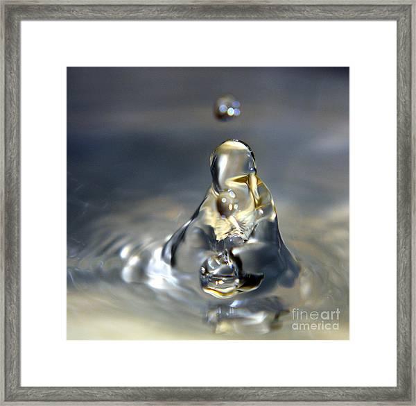 Praying For Water Framed Print