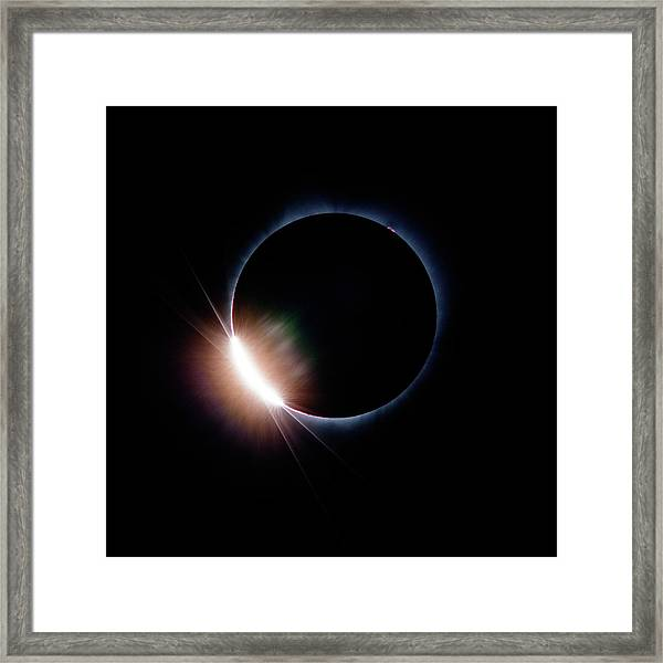 Pre Daimond Ring Framed Print
