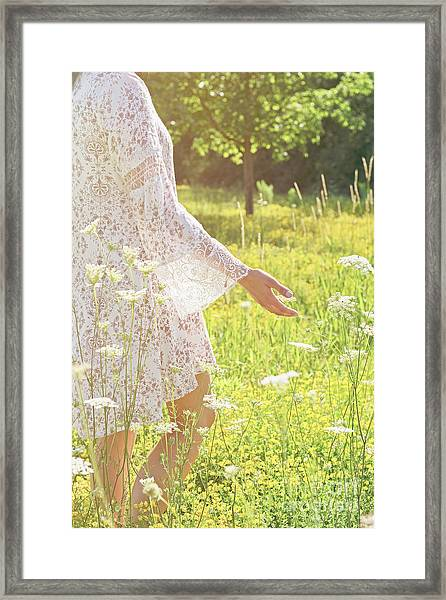 Present Moment.. Framed Print