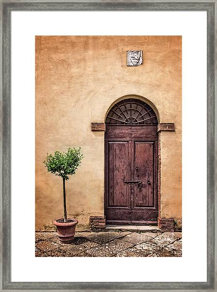 Presently In The Past Framed Print