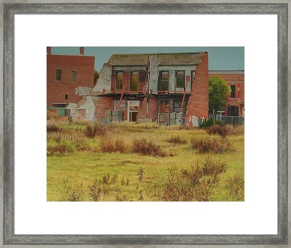 Preservation Framed Print