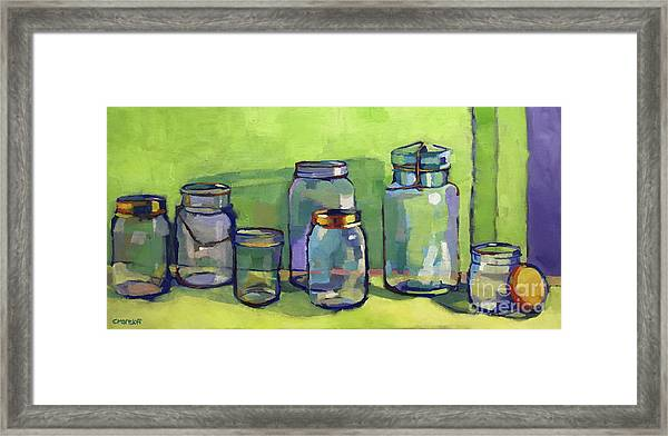 Preserving Color Framed Print by Catherine Martzloff