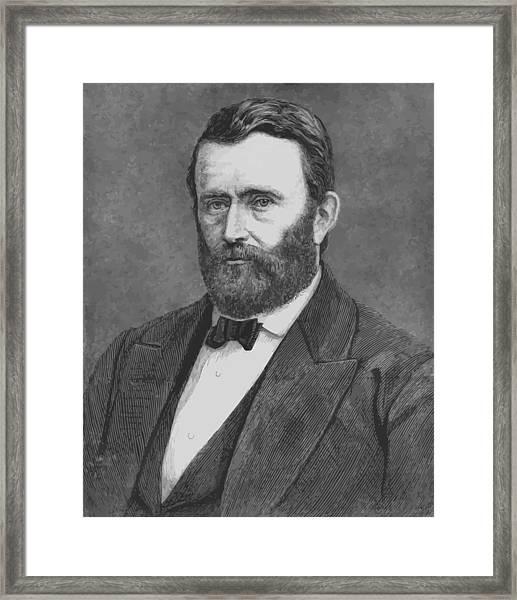 President Grant Framed Print