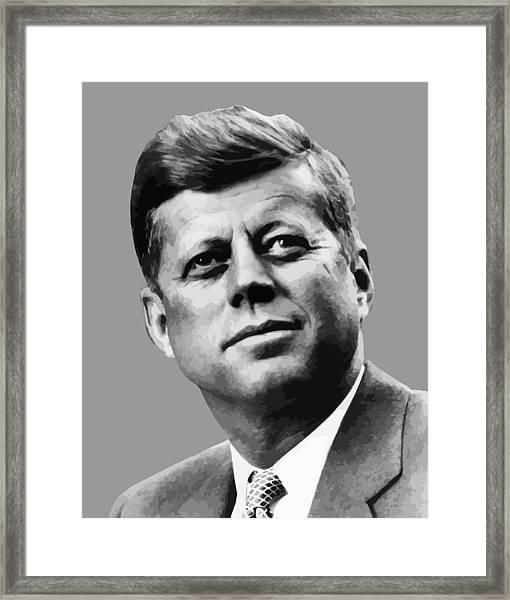 President Kennedy Framed Print