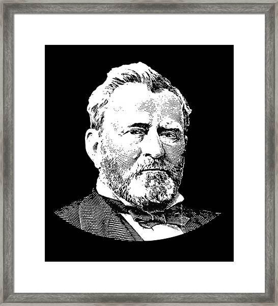 President Ulysses S. Grant Framed Print