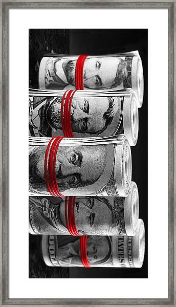 Presidents For Ransom Framed Print