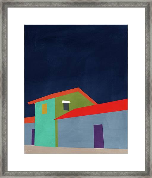 Presidio- Art By Linda Woods Framed Print