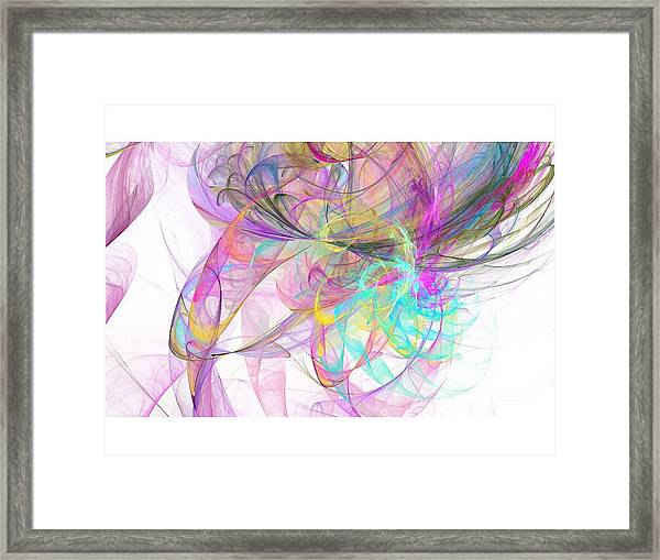 Pretty Framed Print