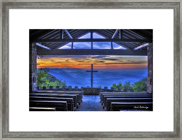 Pretty Place Chapel Sunrise 777  Framed Print