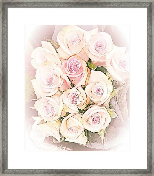 Pretty Roses Framed Print
