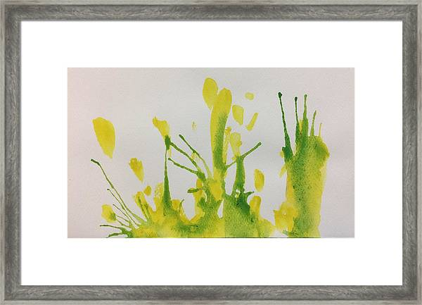 Pretty Weeds Framed Print