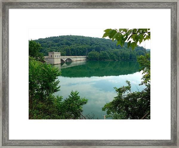 Prettyboy Reservoir Dam Framed Print
