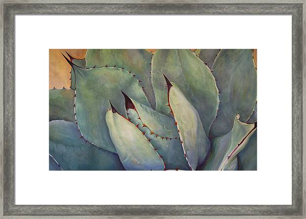 Prickly 2 Framed Print by Athena Mantle