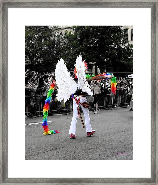 Pride Angel 21126 Framed Print