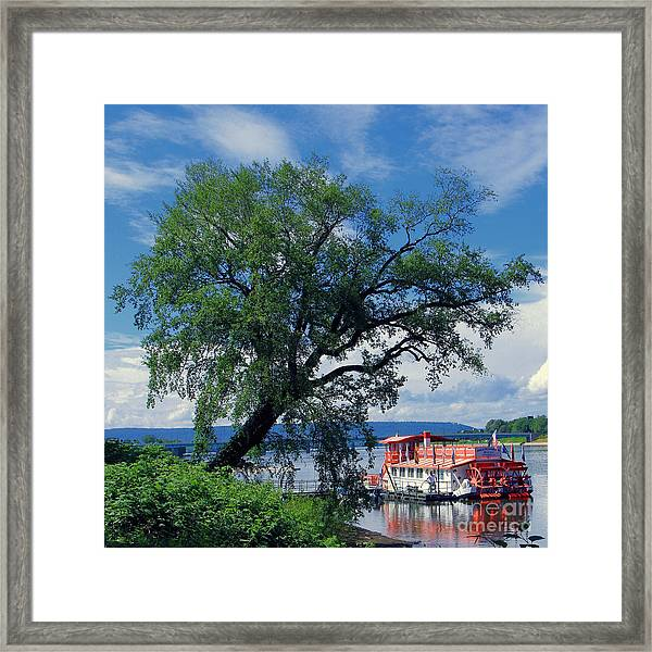 Pride Of The Susquehanna Framed Print