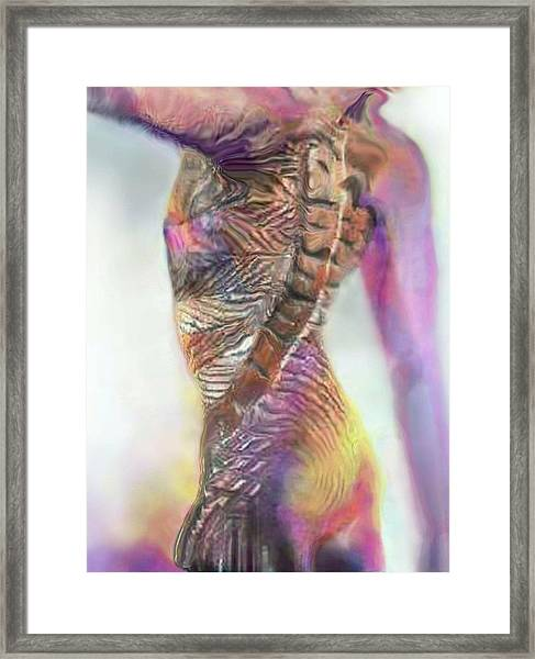 Primal Spring Too Framed Print
