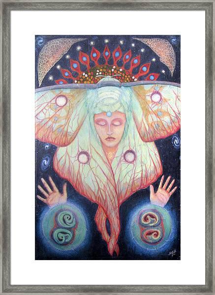 Primordial Cell Dream Framed Print
