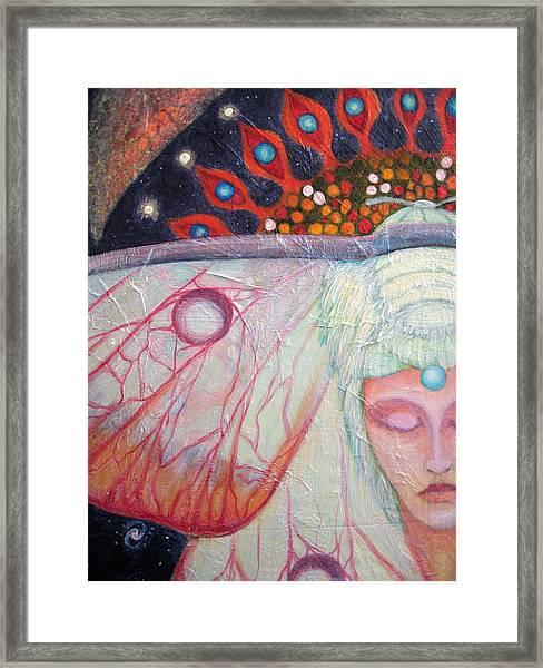 Primordial Cell Dreaming Framed Print