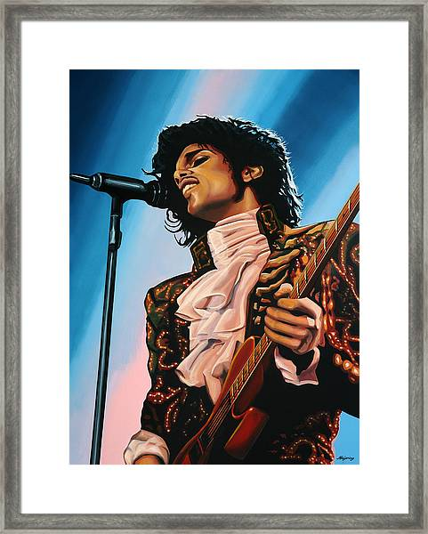 Prince Painting Framed Print
