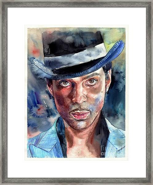 Prince Rogers Nelson Framed Print