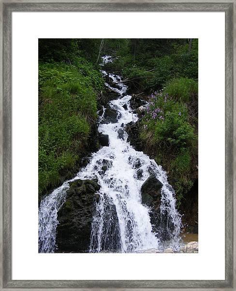 Princess Falls Framed Print