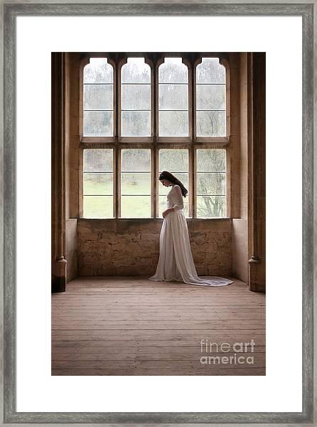 Princess In The Castle Framed Print