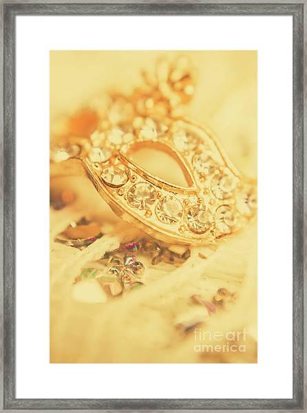 Princess Pendant Framed Print