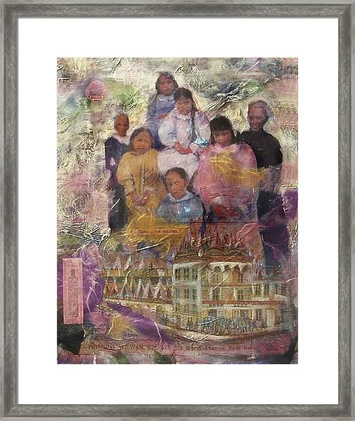 Principal Wigwam Framed Print