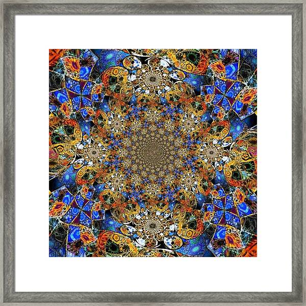 Prismatic Glasswork Framed Print