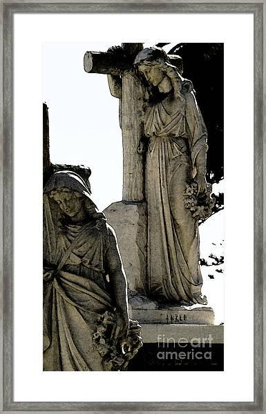 Procession Of Faith Framed Print