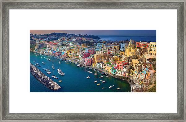 Corricella Framed Print