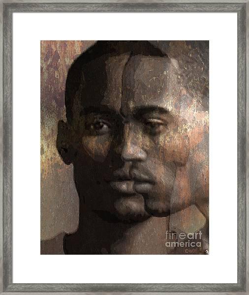 Profile In Bixby Framed Print