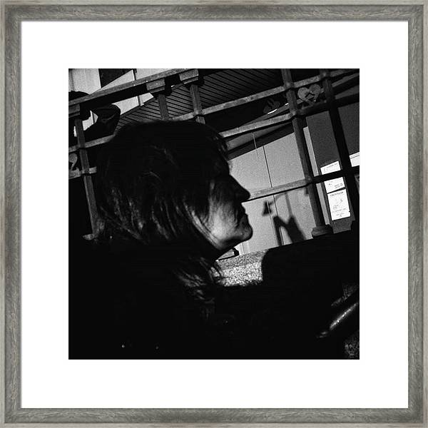 Profile Pic  #profile #people Framed Print