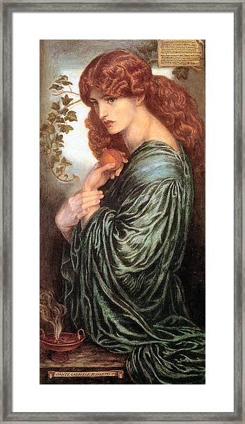 Proserpine 1881 Framed Print