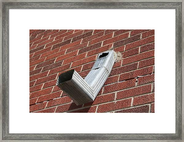 Protuberance Framed Print