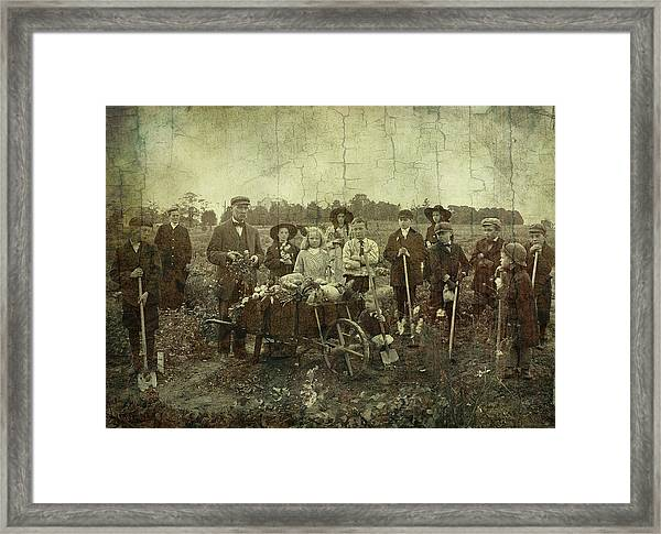 Proud Harvest Framed Print