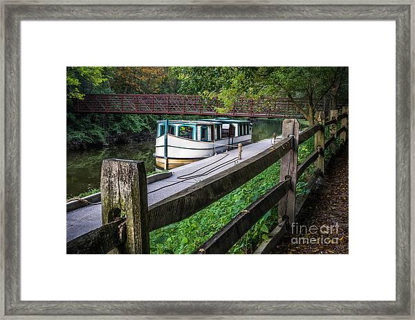 Providence Metropark Erie Canal  Framed Print