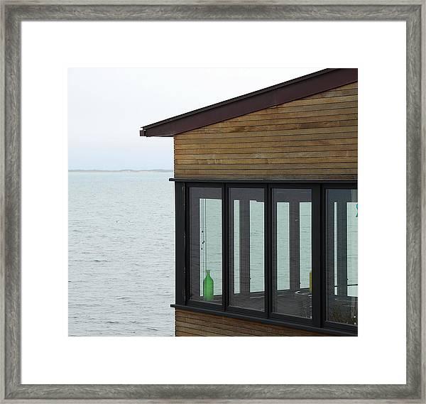 Provincetown Porch Framed Print