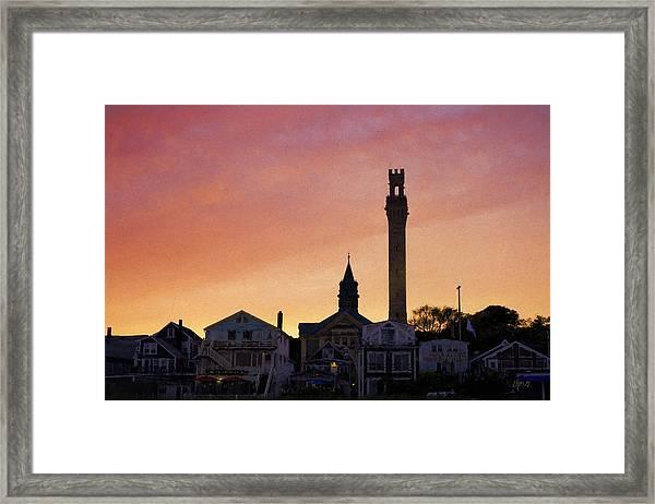 Provincetown Sunset Framed Print