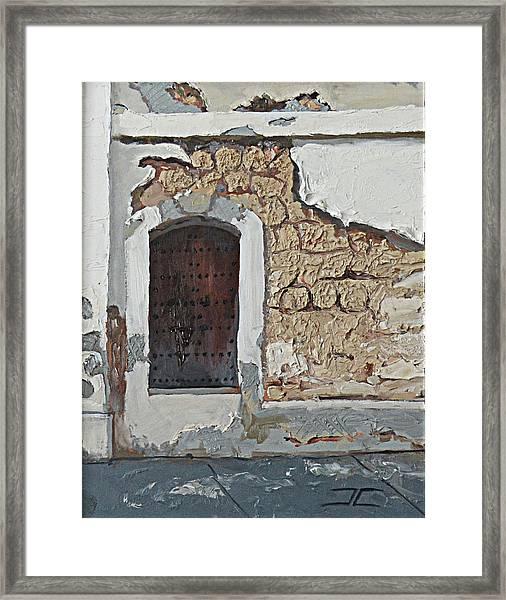 Puerto Rico Door Framed Print