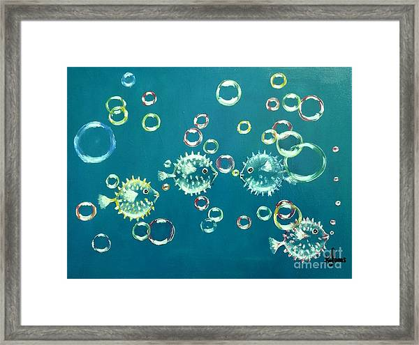 Puffed Up With Pride Framed Print