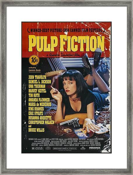 Pulp Fiction 1994 Framed Print
